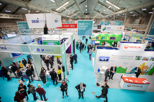Discover innovative energy solutions at SEAI's Energy Show on April 1-2