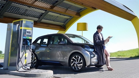 Are largescale battery swapping systems the answer to 'fast' EV charging and stable electricity grids?