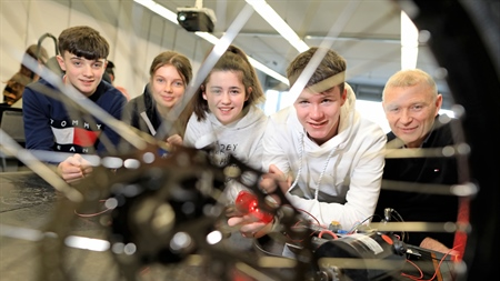 Transition Year Students to Engineer their Future during STEPS Engineers Week