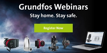 Grundfos lines up webinar on 'Efficient Pumping in Heating and Cooling Applications'